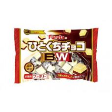 Шоколадные конфеты FURUTA с двумя видами шоколада