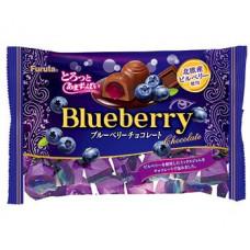 Шоколадные конфеты FURUTA с черникой